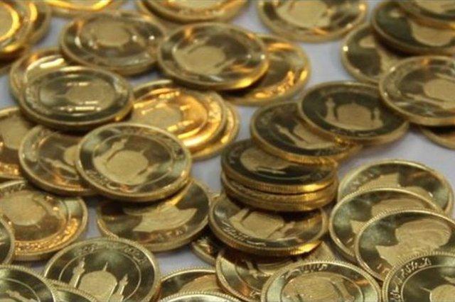 کاهش ۸۴ هزار تومانی قیمت سکه