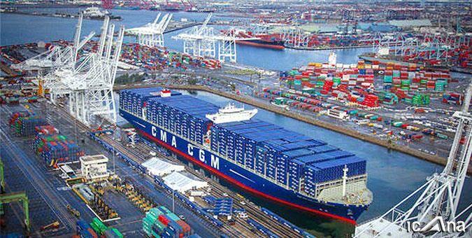 خروج روزانه ۸۰۰ کامیون بهصورت حمل یکسره/ واردات کالای اساسی از بندر چابهار ۹ برابر شد