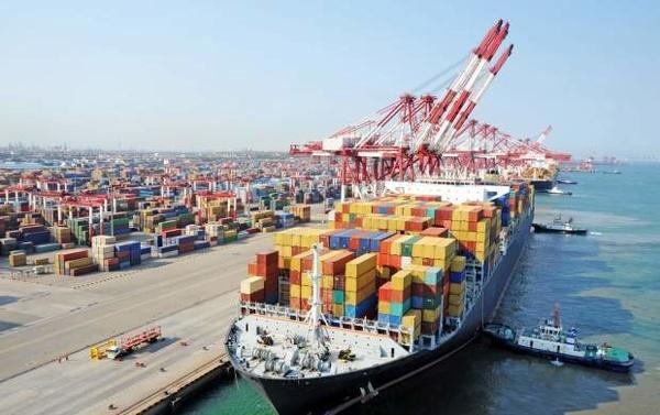 ورود نهمین کشتی گندم ترانزیتی هند به افغانستان به اسکله طرح توسعه بندر شهید بهشتی چابهار