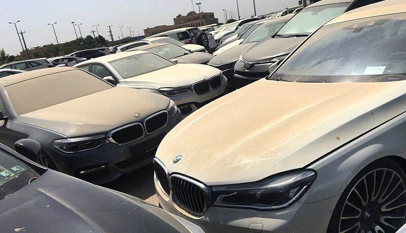 ترخیص تعداد ۱۱۹۰ دستگاه خودرو