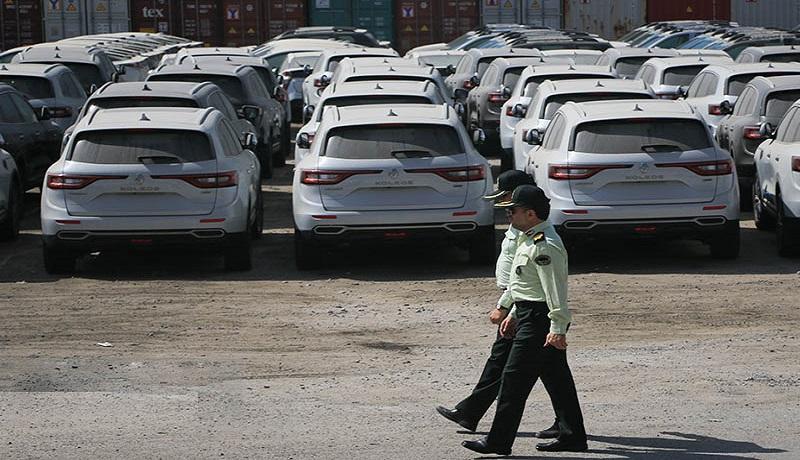 واردات غیرقانونی ۲ هزار خودرو خارجی