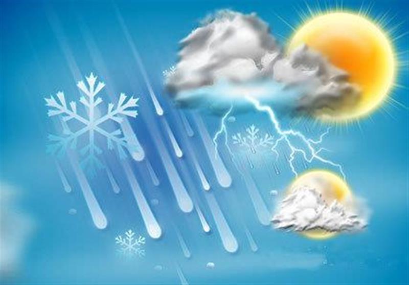 احتمال بارش و آب گرفتگی در استانهای شمالی