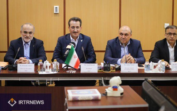 نشست دو جانبه راه آهن ایران و ترکیه