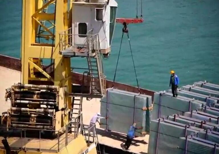 بیش از ۶ هزار تن کالا از گمرک گناوه صادر شد