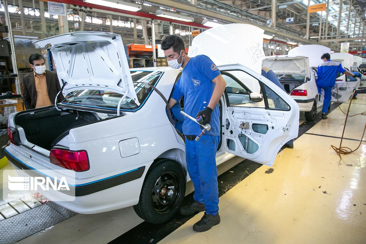 در نیمه نخست ۱۴۰۰؛ تولید خودروسازان بزرگ به حدود ۴۳۰ هزار دستگاه رسید